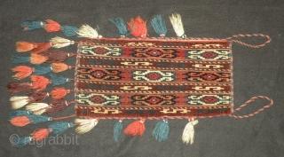 Yomud Spinddle bag, ca1920 26x51 cm