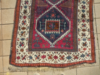 Antique Yuruk rug, Turkey 105x192 cm