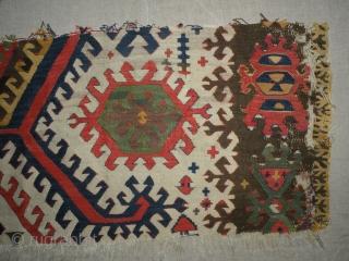 Anatolian kilim fragment, 40x80 cm