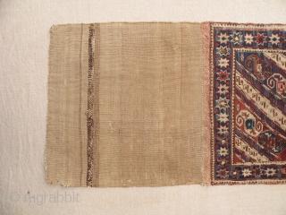 Antique shahsavan sumak khorjin face 51x100 cm