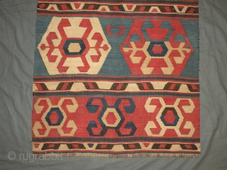 Antique Caucasian kilim 80x220 cm