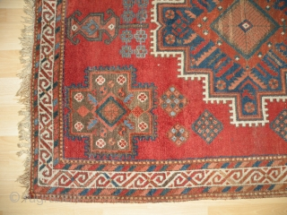 Antique Afshar rug 148x202 cm