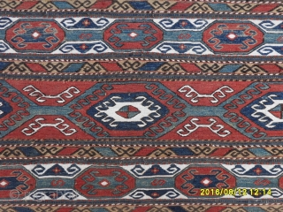 Antique Sumack Mafrash Panel size: 106x47