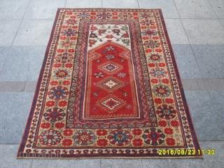 Antique Anatolian Ada Milas Carpet perfect piece size: 159x113