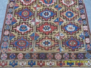 Antique Anatolian Konya Carpet size: 230x140