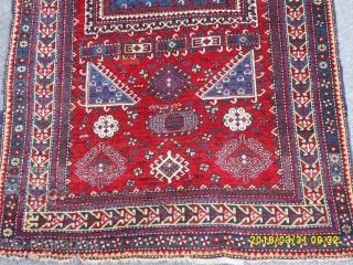 Antıque Caucasıa Kazak Fahrola size:212x122 cm.