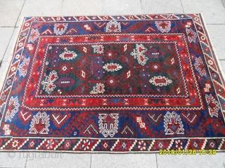 Antique Anatolian Döşeme Altı Carpet size: 170x130