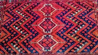 Antique Türkmenistan Ersari Chuvall size 150x100