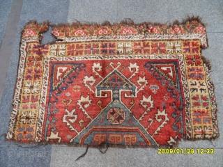 Antıque Anatolıan Fragment Carpet Sıze: 135x90 cm.