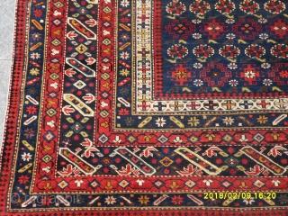 Antique Caucasian Chici Shirvan Perfect size: 210x150