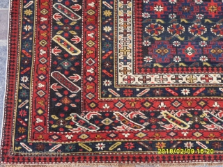 Antique Caucasian Chici Shirvan Perfect size: 210x150