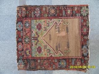 Antıque Anatolıan Karapınar Prayer Carpet size: 112x100 cm.