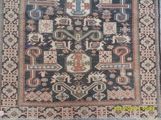 Antique Caucasian Şirvan Perepedil very fine quality size: 120x90