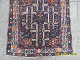 Antique Caucasian Şirvan Karakaşli size: 185x115