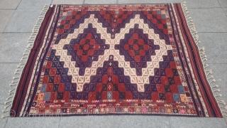 Antique Anatolian Cicim original piece size 160x141