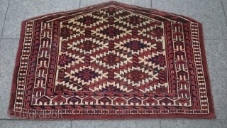 Antique Türkmenistan Asmalık Good condition size 65x97