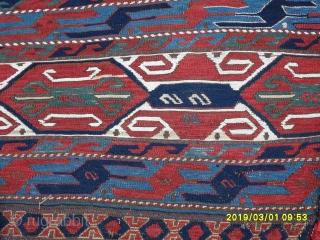 Antique Mafrash Complete piece natural dyes.