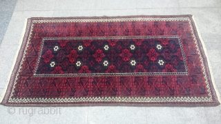 Antique Türkmenistan belüç Carpet Size 150x85