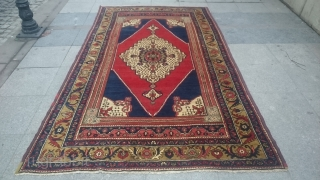 Antique Anatolian Carpet Taspinar size 265x155