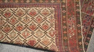 Antique Caucasıan Shirvan Marashali Carpet Size 155x117