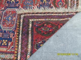 Antique Caucasian Sumack Kilim size: 280x185