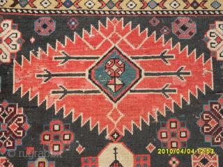 Antıque Sahnazar shirvan carpet size: 310x146 cm.