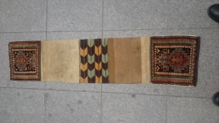Antique Caucasian Sadlebag original piece Wonderfull size 73x31