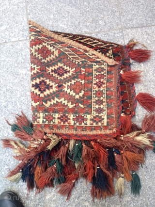 Antique Türkmenistan Asmalık very Fine quality nice piece Great Colors Good condition