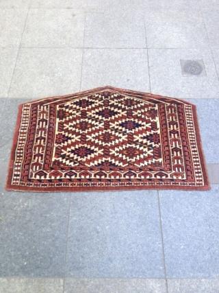 Antique Türkmenistan Asmalık Good condition nice colors no repair perfect