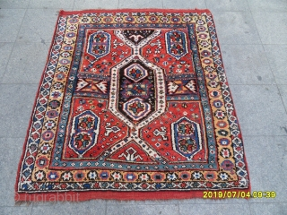 Antique Anatolian Mihalic Carpet All Perfect Good Conditions size: 150x137.cm.