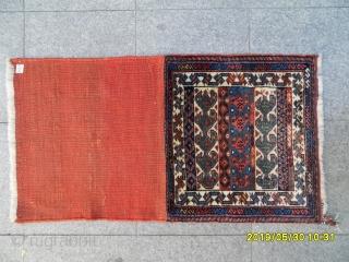 Antique Shiraz Qashqai Bagface size: 55x60 cm