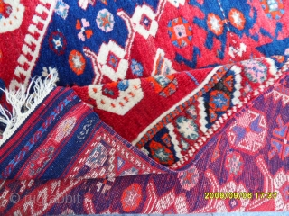 Antıque Anatolıan Bergama Carpet size: 115x105