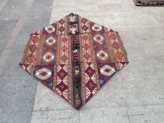 Antique Caucasıan Large Mafrash Big Size