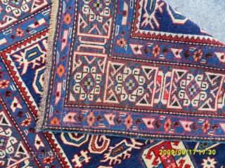 Antıque Caucasian Şirvan Perepedil Carpet. size: 180x122 cm.