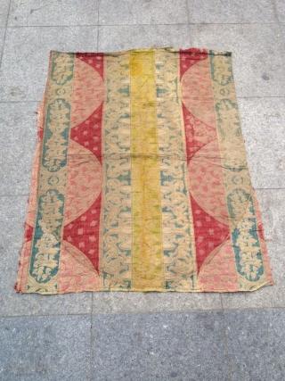 Antique Anatolian Ottoman Textile size 101x81