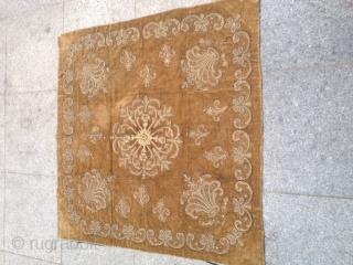 Antique Anatolian Ottoman Textile 96x96