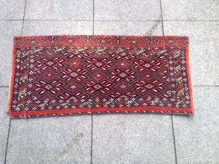 Antique Türkmen Yomut Cuval Great Colors Size 100x50