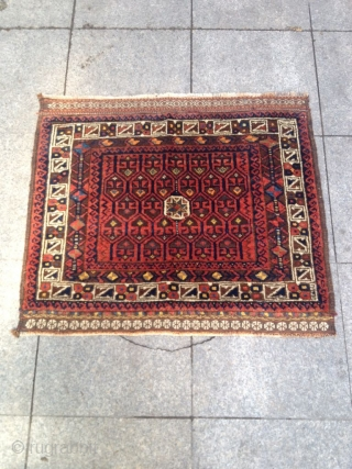 Antique Türkmenistan belüç Torba Size 86-73