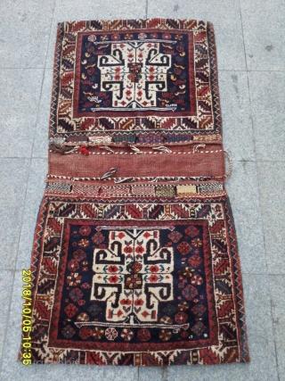 Antique Qashqai Sadle Bag size: 133x65