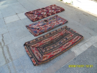 Antıque Three in one Mafrash's ( old cradle ) real great colors.