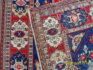 Antique French Goblen Textile size: 207x150 cm.