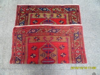 Anatolian Carpet size: 133x92 cm.