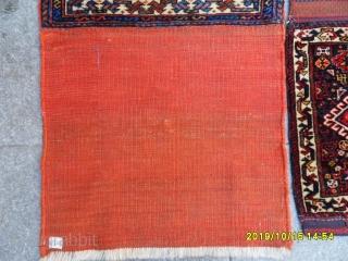 Antique Şiraz Qashqai Bagface