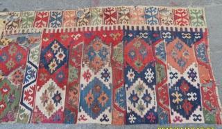 Antique Anatolian Half Kilim size: 260x90 cm.
