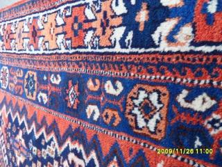 Antique Avşar Carpet Perfect Size: 190x122