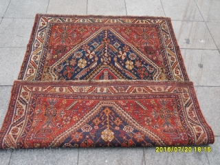 Antique Shiraz Carpet size:190x135