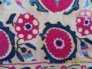 Antıque Türkmen Textile Suzanı size: 212x153 cm.