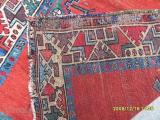 Antıque Anatolian Konya Prayer Carpet size: 135x105 cm.