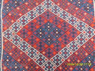 Antıque Shahsavan Bagface size: 50x60 cm.