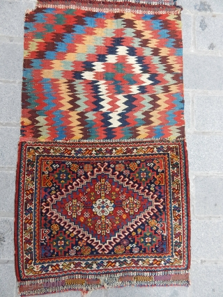 Antique Qasgqii Saddle Bag   size.106x60cm